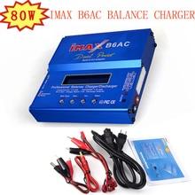 Зарядное устройство iMax B6AC баланс зарядное устройство 80 Вт для Li Po/Li Fe/никель металл гидридный/никель кадмиевый/Pb Встроенный адаптер питания модель батарея зарядное устройство US/EU на выбор доступны вилки