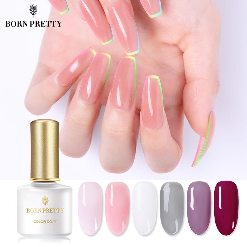 Гель лак BORN PRETTY Opal для ногтей, 6 мл полупрозрачный белый розовый кристаллический лак, отмачиваемый УФ гель для дизайна ногтей|Гель для ногтей|   | АлиЭкспресс