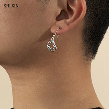 Tooth-Pendant-Earrings Small Trendy Women Fashion Gothic SHIXIN for Punk Vintage Jewelry