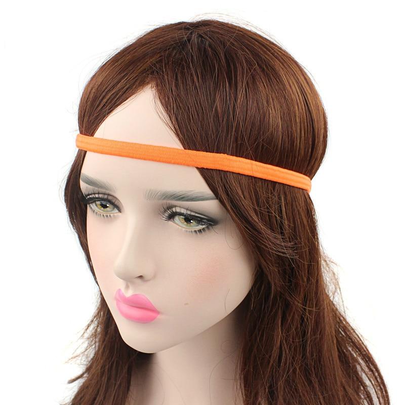 3 PCS Women Men Yoga Hair Bands Sports Headband Anti-slip Elastic Rubber Sweatband Football Yoga Biking