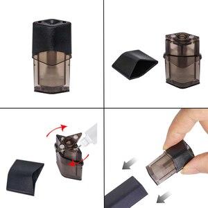 Image 3 - Tam şarj 500 ağız NT N kalem e sigara kiti 400mAh Pod sistemi 1.2ML kartuş Pod Vape elektronik sigara kiti VS minifit