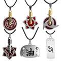 Аниме украшения ожерелье героя аниме «Наруто» Учиха сасуке Шаринган ожерелья для мужчин и женщин из Aburame Shino производства компании