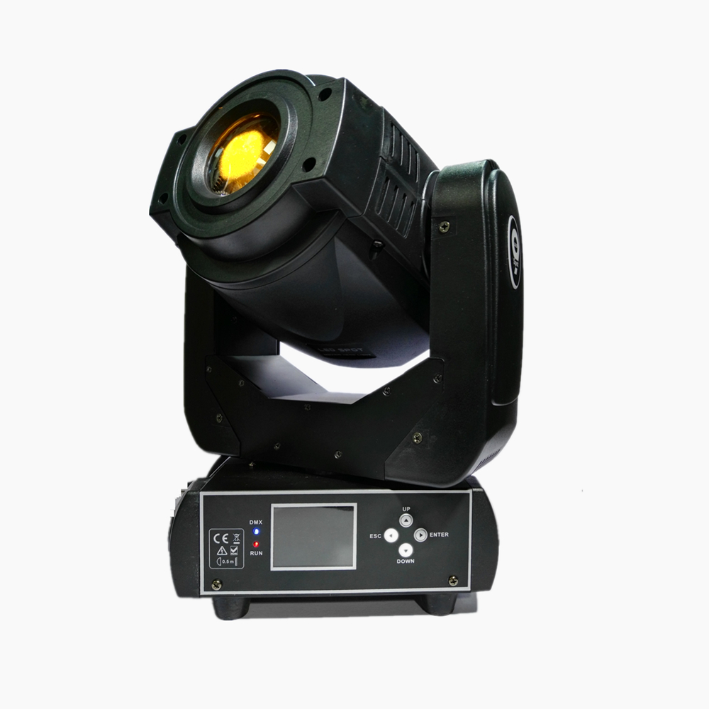 90W Gobo LED Moving Head Light 3 Face Prism DMX Controller 6/16 Channel For Stage Theater Disco Nightclub Party