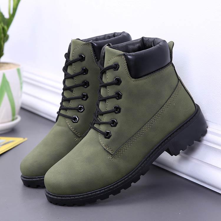 Winter boots women shoes 2019 warm fur plush sneakers women snow boots women lace-up ankle boots winter shoes woman botas mujer (5)
