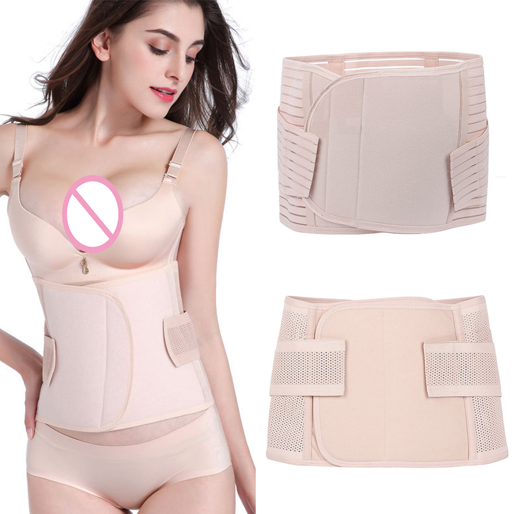 Breathable Belly Slimming Sheath Underwear Waist Trainer Belt Modeling Strap Stretch Postpartum Abdomen Girdle Corset Shaper