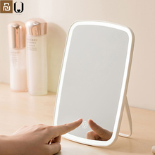 YOUPIN Jordan judy LED makeup mirror Intelligent portable desktop led light portable folding light mirror dormitory desktop comb
