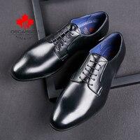 Formale Schuhe Männer Herbst 2021 Mode Hochzeit Casual Leder Kleid Schuhe Mann Schwarz Büro Business Spitze-Up Neue Marke männer Schuhe