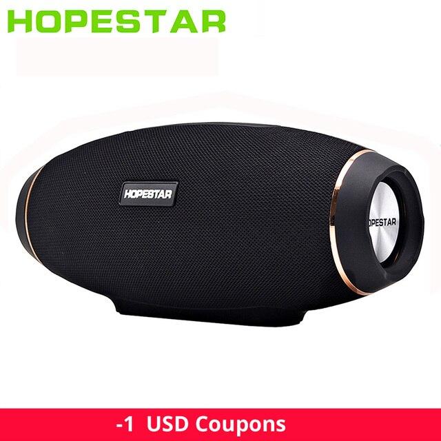 Altavoz Bluetooth portátil Hopestar H20 30W 10W H27 boombox impermeable mp3 columna musical inalámbrico barra de sonido caja estéreo Subwoofer