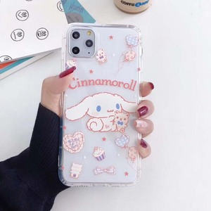 Cartoon sanrio Cinnamoroll case for X Xs Max XR cover soft TPU shockproof back cover for iphone11 11pro 6 6s 7 8 plus Phone Case(China)