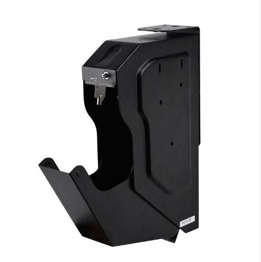 N \ A Cassaforte biometrica per Pistola per 2 Pistole cassaforte per Pistola a Impronte digitali ad Accesso rapido per casa cassaforte Intelligente per Pistola
