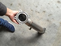 3 polegada catless turbo downpipe tubo de escape para cadillac ats 2.0t