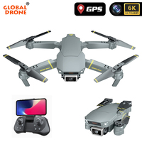 Global Drone RC Helicopter GPS Drone 4K HD camera Quadrocopter Drone 6K Dron Adjustable Gimbal WiFi live video FPV VS E58 F3 F11