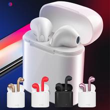 2021 nowy i7s TWS Mini Bluetooth słuchawki zestaw słuchawkowy dla aktywnych wodoodporne słuchawki douszne muzyka słuchawki PK I9s i11 i12 bezprzewodowe słuchawki tanie tanio qeedns Ucho Technologia hybrydowa CN (pochodzenie) wireless 120dB Do Internetu Bar Monitor Słuchawkowe Do Gier Wideo Wspólna Słuchawkowe