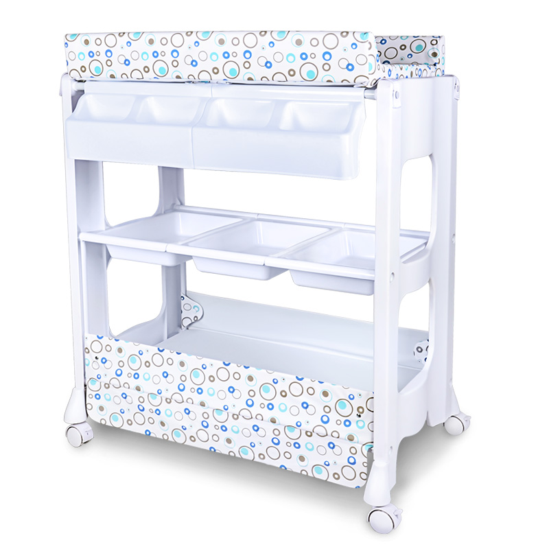 Comfortable And Safe Bb Diaper Changing Table Nursing Table For Multi-functional Baby Bed Baby Touching Massage Bed With Bathtub