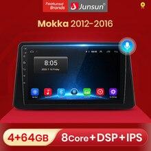 Reprodutor de vídeo dos multimédios do rádio do carro de junsun v1 android 10.0 para opel mokka 2012 - 2016 2 din dvd