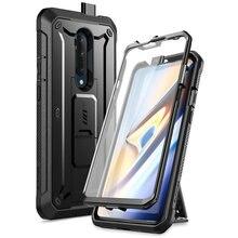 SUPCASE Für OnePlus 7T Pro Fall UB Pro Heavy Duty Volle Körper Holster Abdeckung mit Integrierten Bildschirm Protector für One Plus 7T Pro