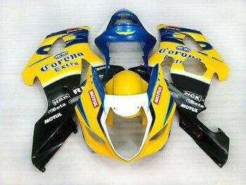 Wotefusi Injection Molding Bodywork Fairing For Suzuki GSX R 1000 K3 2003 2004 (DD)