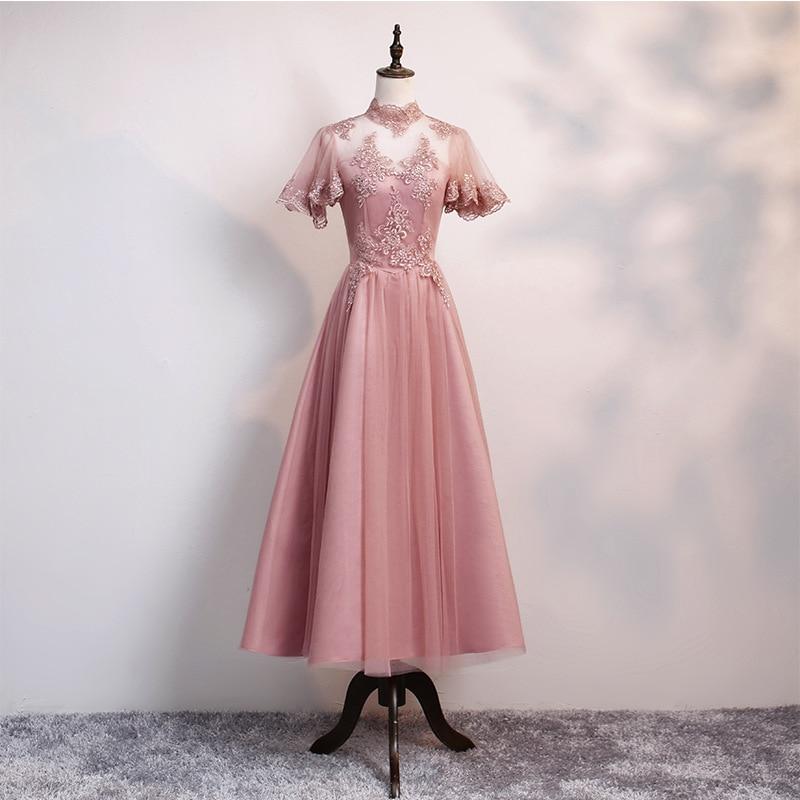 Women's Event Prom Dress Bridesmaid Graduation Party Dress Robe De Soiree/платье вечернее/evening Dress