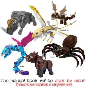 Movie Series Fantastic Harry Beasts Animal Toy Action Figures Building Blocks Kids Educational Toys For Children Bricks