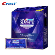3D White Whitestrips Original Professional Effects Level Tooth Whitening Oral Care 5 Pcs Charcoal Teeth Whitening Strips as Gift