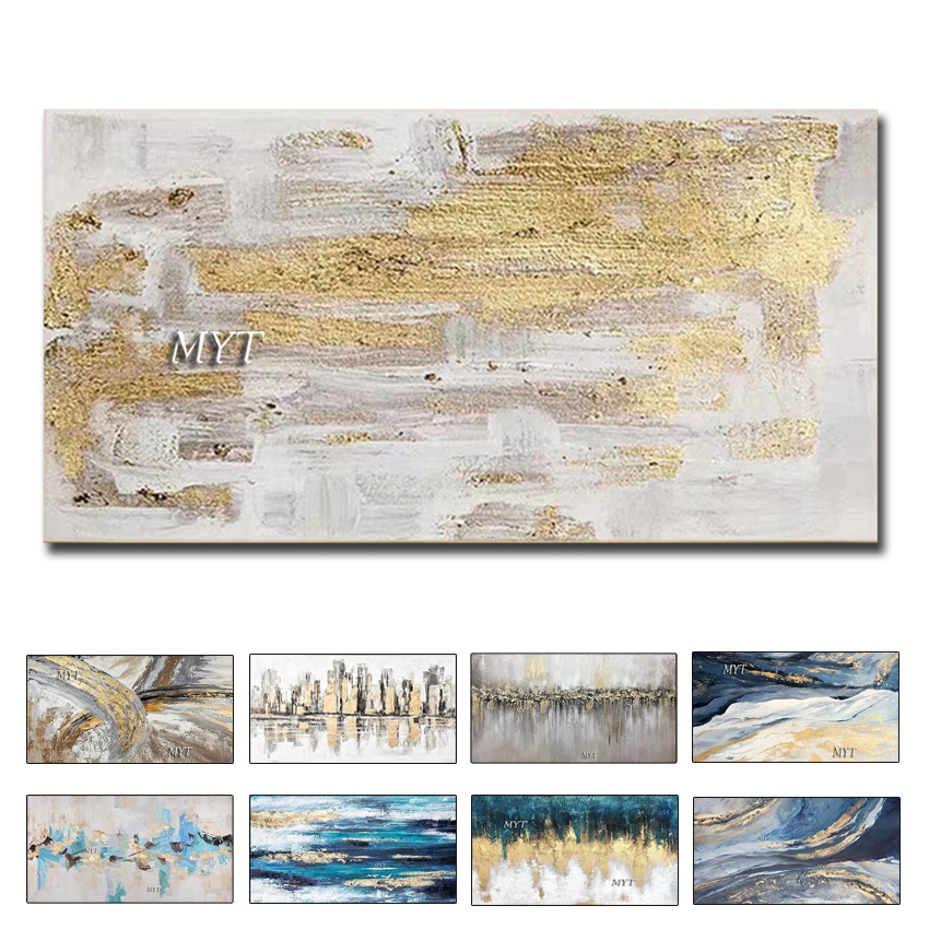 Abstract 3D Gold Thick Art Handmade Oil Painting Canvas Gold Paintings Wall Pictures Art Wall Artwork For Dining Room Decoration|Painting & Calligraphy|   - AliExpress