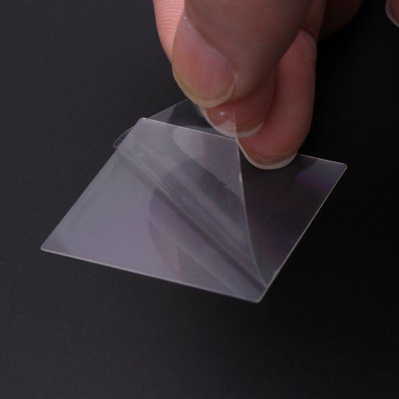 36x38 мм нано гравировка pet trasmission Дифракционная решетка