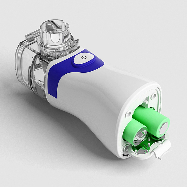 Inhaler Portable Nebulizer for inhalation Handheld Ultrasonic Steaming Devices Home USB Rechargeable Nebulizer for Adults Kids 2