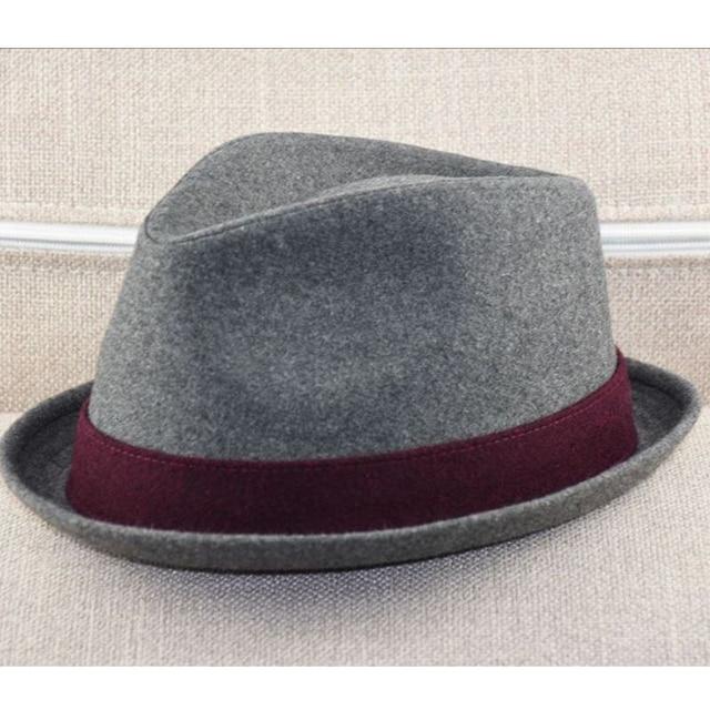 Big Head Men Large Size Fedora Hats Dad Winter Party Formal Jazz Hat Male Plus Size Wool Felt Hat 57 58cm 59 60cm 60 62cm