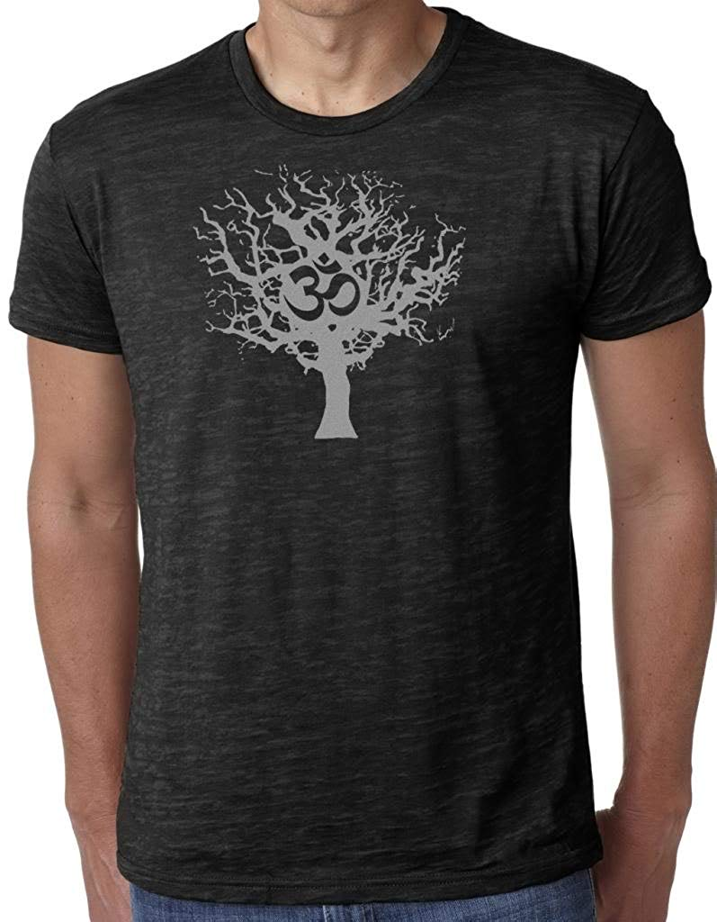 Yoga Clothing For You Mens Burnout Tee Shirt