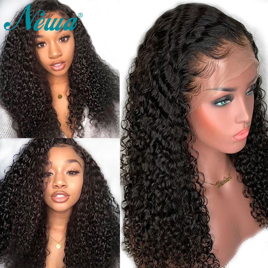 Newa Hair 13x6 Pre Plucked Lace Front Human Hair Wigs With Baby Hair Brazilian Remy Hair