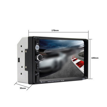 7'' 2DIN Car Multimedia Player Car Stereo Radio MP5 Player Auto Radio HD Multimedia Player Touch Screen Car Stereo Bluetooth USB image