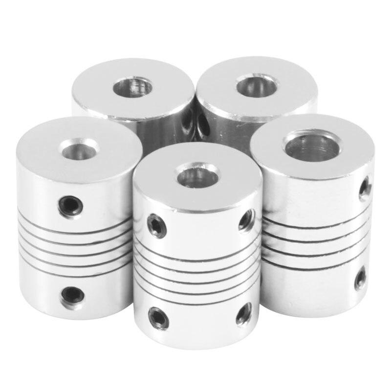 d19 * l25 Couple Aluminium Jaw flexible Coupling Shaft Coupling Stepper Motor Coupler Shaft Coupling Encoders Engraving Machine