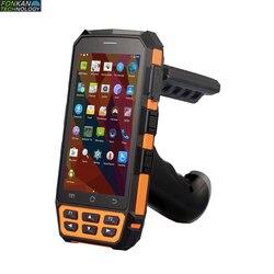 FONKAN Rfid UHF Reader R2000 module code grabber scanner Bluetooth wifi communication 4G Handheld inventory Handheld