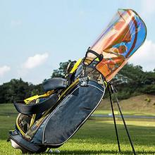 Golf Bag Top Cover Universal Colorful Golf Bag Rain Hood Rainproof Equipment Waterproof Large Capacity Big Bags Top Cover Tools