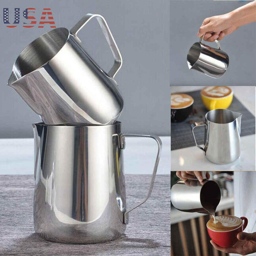 Stainless Steel Fantastis Dapur Cokelat Kehitaman Pitcher Susu buih kendi Kopi Espresso Barista Kerajinan Kopi Latte Susu Buih Kendi Pitcher
