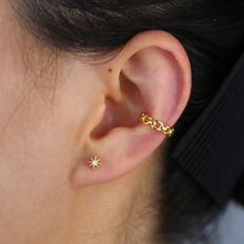 Earring Ear-Clip No-Piercing Link-Chain Fashion Jewelry Gold-Color 1piece Cuban Wholesale