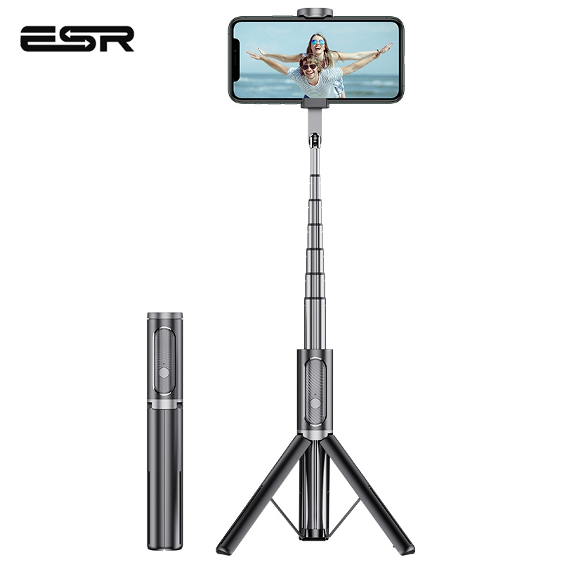 ESR Bluetooth Phone Holder Selfie Stick Connect By Smart Phone Handheld Portable Camera Tripod Wireless Remote For IPhone Huawei