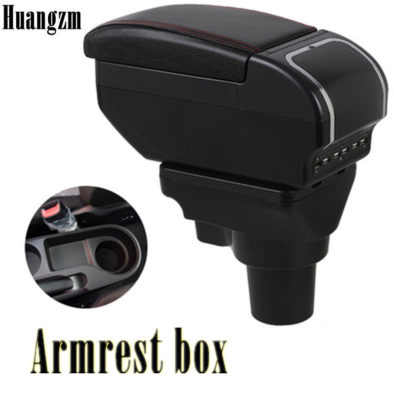 For KIA Rio 4 Rio X-line Armrest Box Central Store Content Box Car-styling Accessories