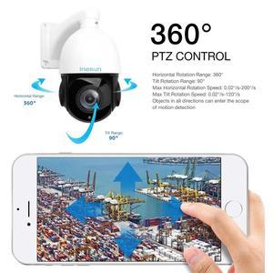 Image 5 - Inesun caméra de surveillance dôme extérieure PTZ IP PoE 2MP, dispositif de sécurité, avec ia, suivi automatique, Zoom optique x30, Audio bidirectionnel et protocole ONVIF