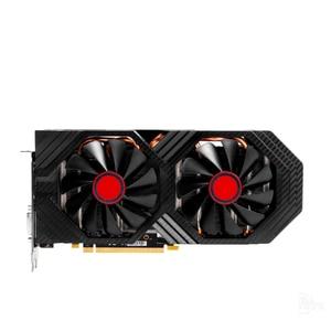 Image 2 - XFX RX 580 8GB 그래픽 카드 AMD RX500 시리즈 VGA 카드 용 256Bit GDDR5 비디오 카드 RX580 8GB HDMI DVI RX580 8GB 2304 중고