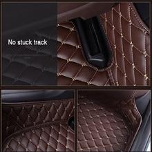 Автомобильный напольный коврик HLFNTF для всех моделей Hyundai, полноразмерный объемный коврик для Hyundai accent, azera, lantra, elantra, tucson iX25, i30, iX35