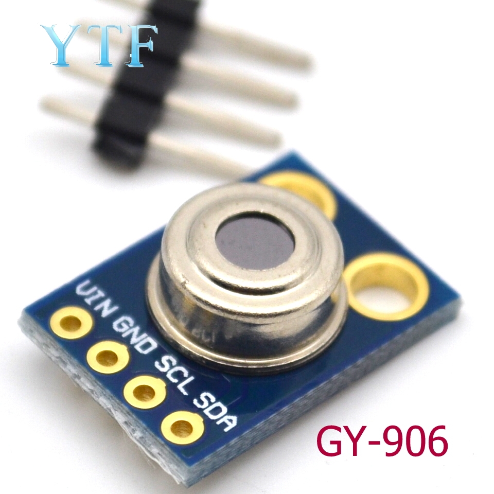 MLX90614 Non-contact Infrared Temperature Sensor Module Iic Interface GY-906 1PCS