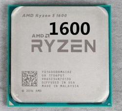 Процессор AMD Ryzen 5 1600 R5 1600 3,2 ГГц шестиядерный процессор с двенадцатью потоками 65 Вт Процессор YD1600BBM6IAE Socket AM4