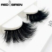 Get more info on the RED SIREN Mink Lashes 25 mm Lashes Wholesale Handmade Real Mink Hair Long Dramatic Eyelashes Make up Fake Eyelashes