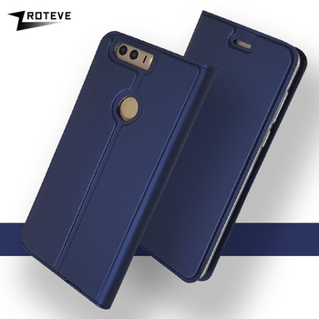 Honor 8 Case ZROTEVE Leather Wallet Coque For Huawei Honor 8 Lite Honor8 Case Flip Leather Cover For Huawei Honor 8A 8S 8X Cases