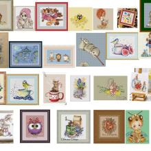 Basket Stitching Thread Embroidery Diy Canvas Animal Cotton 14ct with Linen Flaxen Curly-Girl