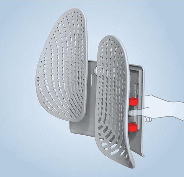 Details about  /Leband Adjustable Ergonomic Backrest Support One-key Lift Wrap-around Dynamic