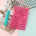 Тип печати DIY Алфавит пластиковая лепешка буква Im пресс форма для бисквитов печенья Резак Пресс штамп тиснения, помадка плесень