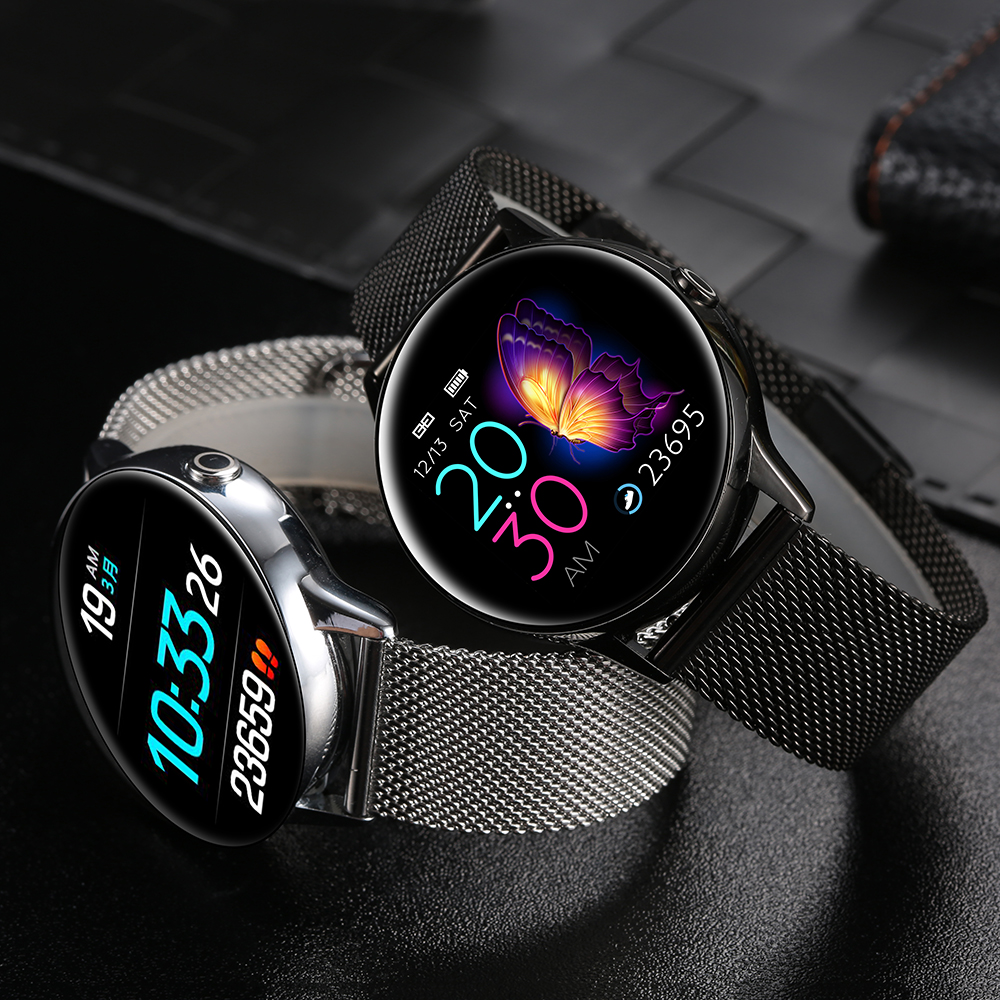 Women IP68 Waterproof Smart Watch for iPhone xiaomi LG with Bluetooth and Heart Rate Monitor Fitness Tracker 5
