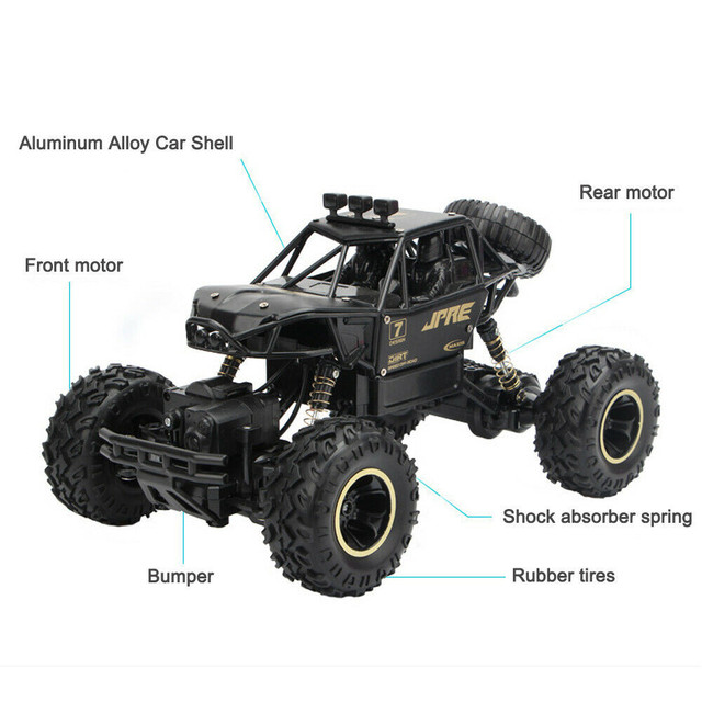 1:16 4WD RC Car Update Version 2.4GHz Dirt Bike Remote Control Car Toys High Speed Truck Off-Road Truck Children's Toys Gifts#g4 6